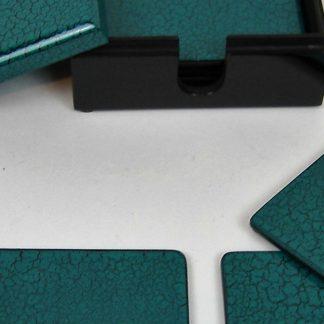 Spotlight on turquoise crackle